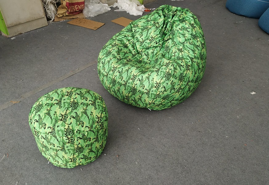 Camouflage Drop Beanbag chair